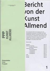 Berich von der Almend_titlepage